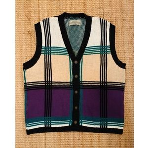 RARE ✨ GUESS Country Club Sweater Vest